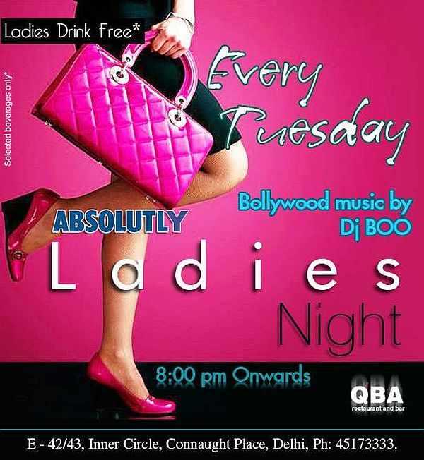 QBA Connaught Place ladies Night