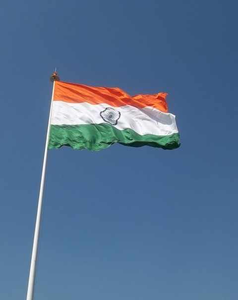 Tricolour at Connaught Place Central Park is the highest monumental flag in New Delhi