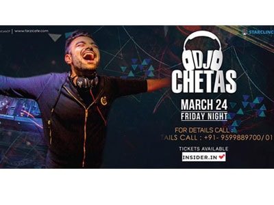 Dj Chetas Live at  Farzi Cafe CP MyConnaughtplace