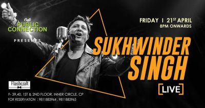 Friday Live Session featuring Sukhwinder Singh MyConnaughtplace