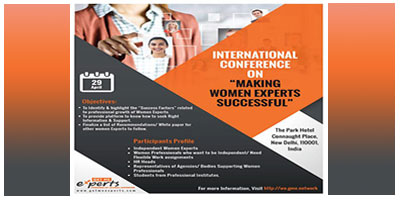The Future is WE, International Women Conference on Making Women Experts Successful. MyConnaughtplace