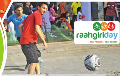 Raahgiri Day. MyConnaughtplace